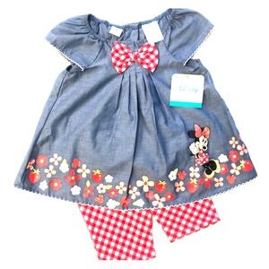 Minnie Mouse Baby Girl 2 Piece Set